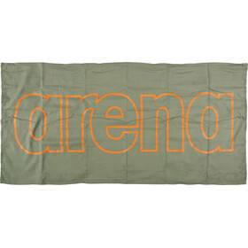 arena Gym Smart Towel army-tangerine